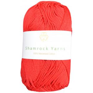 Shamrock Yarns Merciserad Bomull 19 Röd