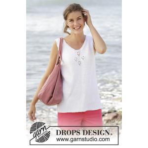 Sunny Day Topp by DROPS Design - Topp Stick-opskrift strl. S - XXXL