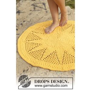 Sol by DROPS Design - Matta Virk-mönster 84 cm