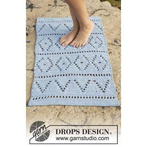 Boardwalk by DROPS Design - Matta Virk-opskrift 61x100 - 73x123 cm
