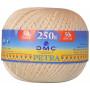 DMC Petra nr. 5 Virkgarn 001 Natur - 250 gram