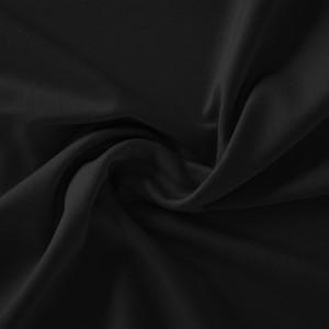 Køb Avalana Jersey Solid Tyg 160cm Färg 010 Svart – 50cm