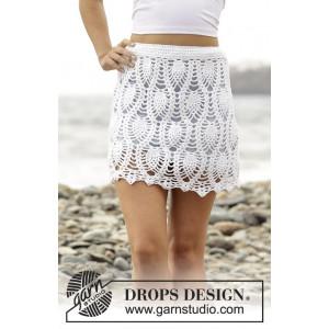 Piña Colada by DROPS Design - Kjol Virk-opskrift strl. S - XXXL