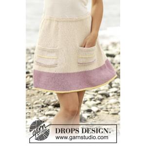 Spring Belle by DROPS Design - Kjol Stick-opskrift strl. S - XXXL