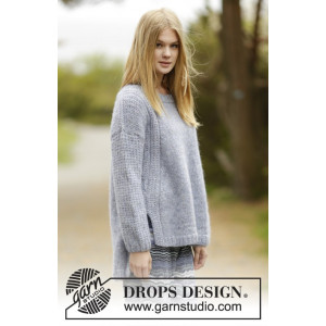 Sigrid by DROPS Design - Tröja Stick-opskrift strl. S - XXXL