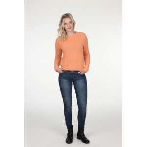 Mayflower Sweater med bubblor - Tröja Stick-opskrift strl. S - XXXL