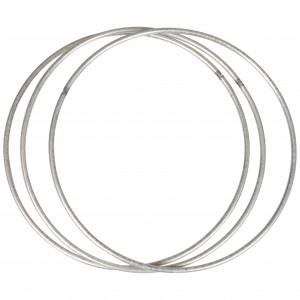 Infinity Hearts Metallring Silver Ø15cm - 3 st.