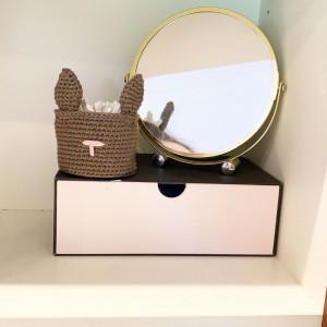 Kaninkorg av Rito Krea - Korg Virkmönster 8,5cm