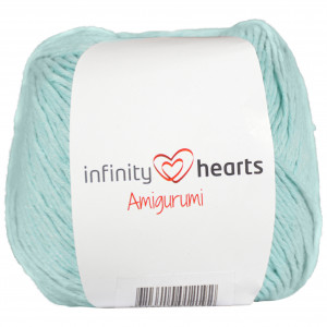 Infinity Hearts Amigurumi Garn 15 Mintgrön