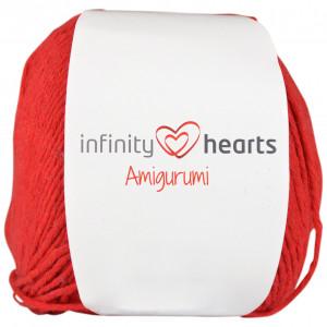 Infinity Hearts Amigurumi Garn 29 Röd