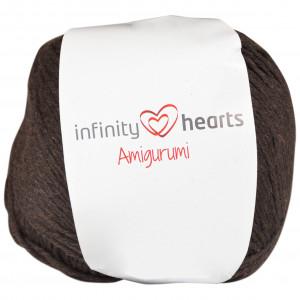 Infinity Hearts Amigurumi Garn 10 Mörkbrun