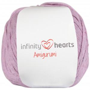Infinity Hearts Amigurumi Garn 20 Ljuslila