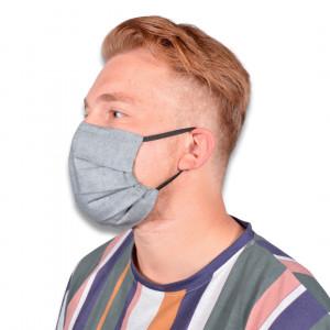 Ansiktsmask/Munskydd med filter av Rito Krea - Ansiktsmask Symönster 18,5x9 cm - 7 st.