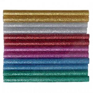 Hobby Line Limstänger Glitter 7,2mm 10cm Ass. färger - 12 st.