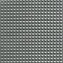 Imiterat skinn Pyramider Tyg 140cm 17 Ljusgrå metallic - 50cm
