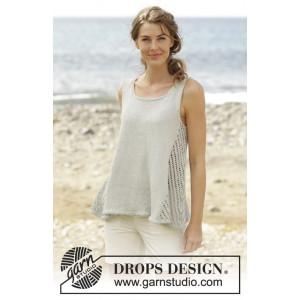 Venezia Topp by DROPS Design - Topp Stick-opskrift str. S - XXXL
