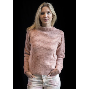 Mayflower Sweater - Tröja Stick-opskrift strl. S - XXXL