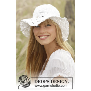 Country Girl by DROPS Design - Hatt Virk-opskrift 54/56 - 58/60 cm