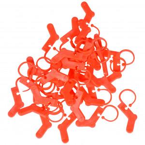 Køb Infinity Hearts Maskmarkörer Strumpa Röd 3×2,5cm – 30 st