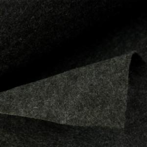 Køb Filt 1,5mm Tyg 100cm 032 Mörk Antracit Melange – 50cm