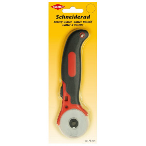 Køb Kleiber Rullkniv Svart/Röd Ø45mm 17cm
