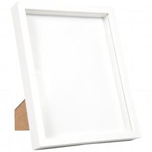 Køb Dekorationsram MDF Vit 19,5×24,5x3cm
