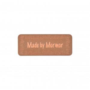 Køb Label Made by Mormor Imiterat läder Brun 5×2 cm – 1 st