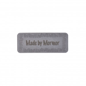 Køb Label Made by Mormor Imiterat Läder 5×2 cm – 1 st