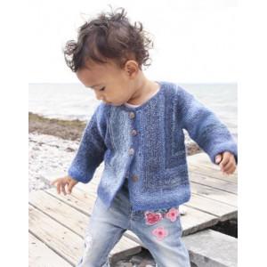 Corner Jacket by DROPS Design - Baby Jacka Stick-mönster strl. 1/3 mdr - 3/4 år