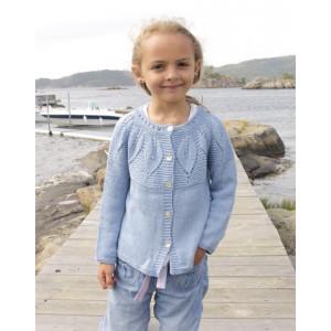 Sweet Bay Jacket by DROPS Design - Jacka Stick-opskrift strl. 3/4 - 13/14 år
