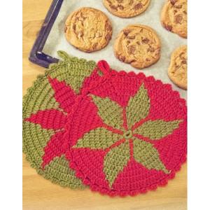 Santa's Recipe by DROPS Design - Grytlapp Virk-mönster 24 cm - 2 stk