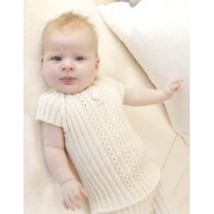 Simply Sweet Singlet by DROPS Design - Baby Undertröja Stick-mönster strl. Prematur - 3/4 år