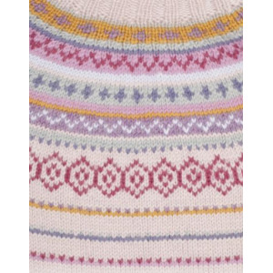 Sweet As Candy by DROPS Design - Tröja med nordiskt mönster Stick-opskrift strl. S - XXXL