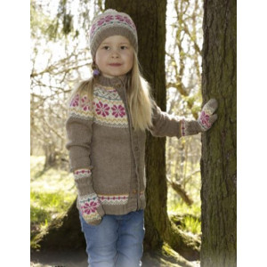 Prairie Fairy by DROPS Design - Jacka Stick-opskrift strl. 3/4 - 11/12 år