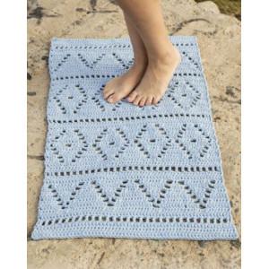 Boardwalk by DROPS Design - Matta Virk-mönster 61x100 - 73x123 cm