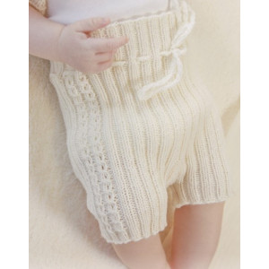Simply Sweet Shorts by DROPS Design - Baby shorts Stick-mönster strl. Prematur - 3/4 år
