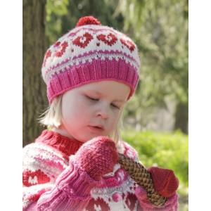 Warmhearted Hat by DROPS Design - Mössa stickmönster str. 12/24 mdr - 3/6 år