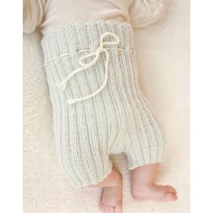 First Impression Shorts by DROPS Design - Baby shorts Stick-mönster strl. Prematur - 3/4 år