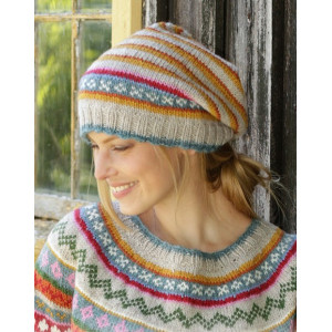 Winter Carnival Hat by DROPS Design - Stickmönster mössa str. S/M - L/XL