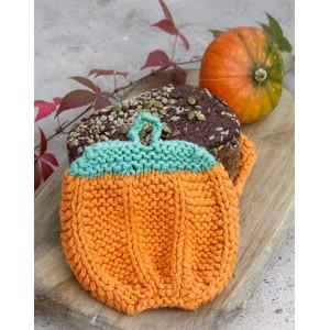Roasted Pumpkin by DROPS Design - Grytlappar Halloween Stickbeskrivning