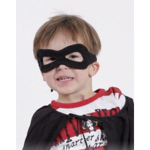 Little Zorro by DROPS Design - Mask Virkopskrift One size