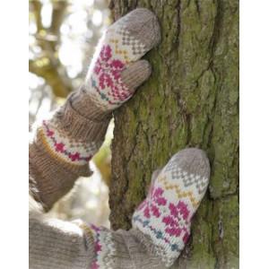 Prairie Fairy Mittens by DROPS Design - Vantar Stick-opskrift strl. 3/5 - 9/12 år
