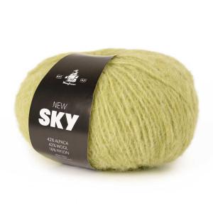 Køb Mayflower New Sky Garn Unicolor 81 Vinter Päron
