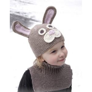 Honey Bunny by DROPS Design - Påskehare mössa str. 1-8 år