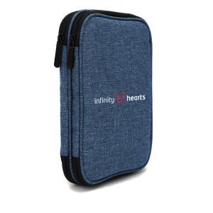 Køb Infinity Hearts Etui till Rundstickor & Tillbehör Blå 22x17x4cm