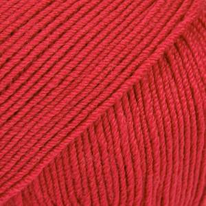 Drops Baby Merino Garn Unicolor 16 Röd