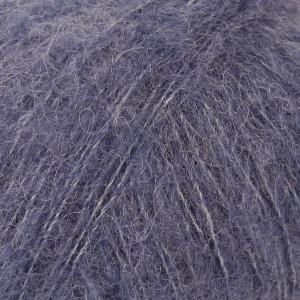 Drops Brushed Alpaca Silk Garn Unicolor 13 Jeansblå