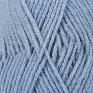 Drops Karisma Garn Unicolor 30 Ljus Jeansblå