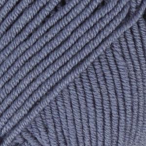 Drops Merino Extra Fine Garn Unicolor 13 Denim Blå