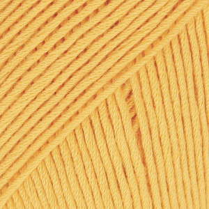 Drops Safran Garn Unicolor 11 Stærk gul